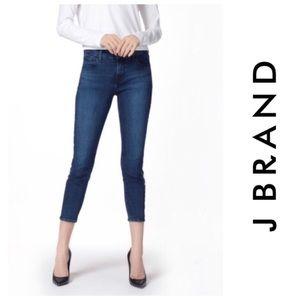 J Brand Atmosphere Mid Rise Capri Jeans